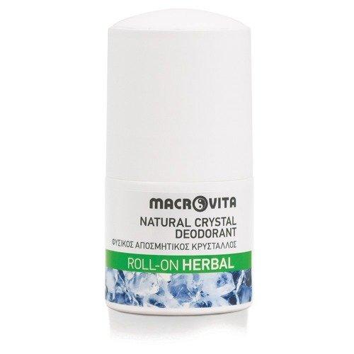 MACROVITA dezodorant roll-on z naturalnym kryształem HERBAL 50ml